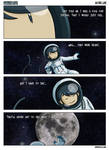 Faking Life: To the moon by taneel