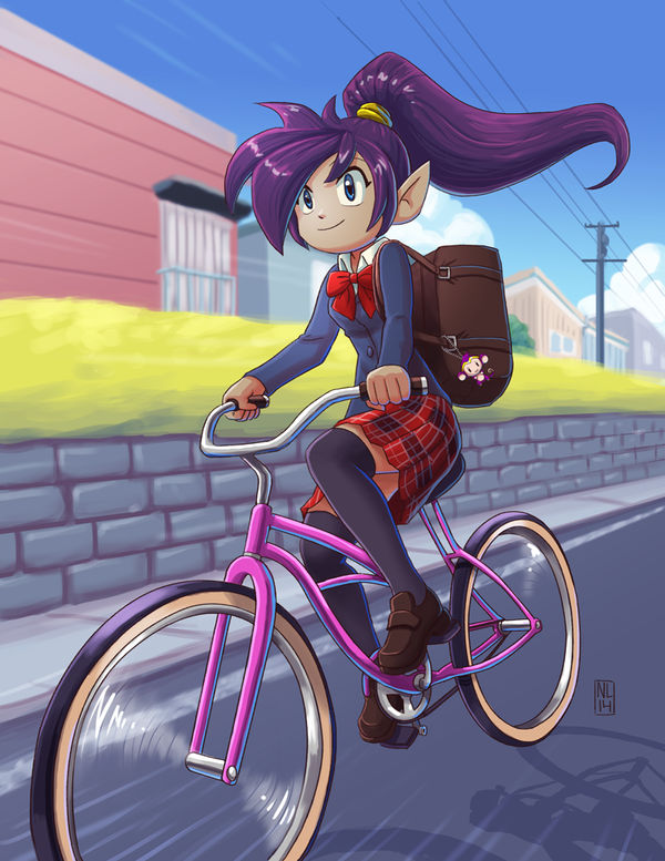 Shantae: All Schoolgirl Hero