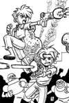 Inktober: Gunstar Heroes