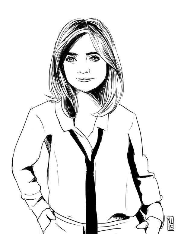 Quick Jenna Coleman by taneel