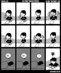 The comic making process