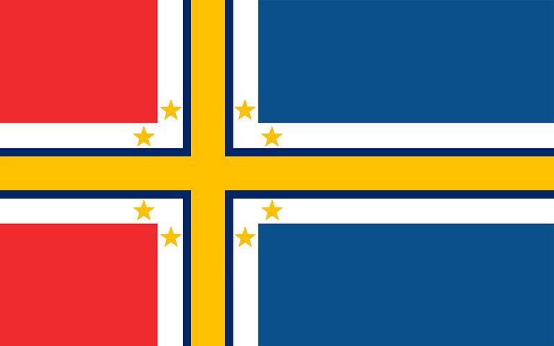 Scandinavian Flag by DigitalismIsMyCause