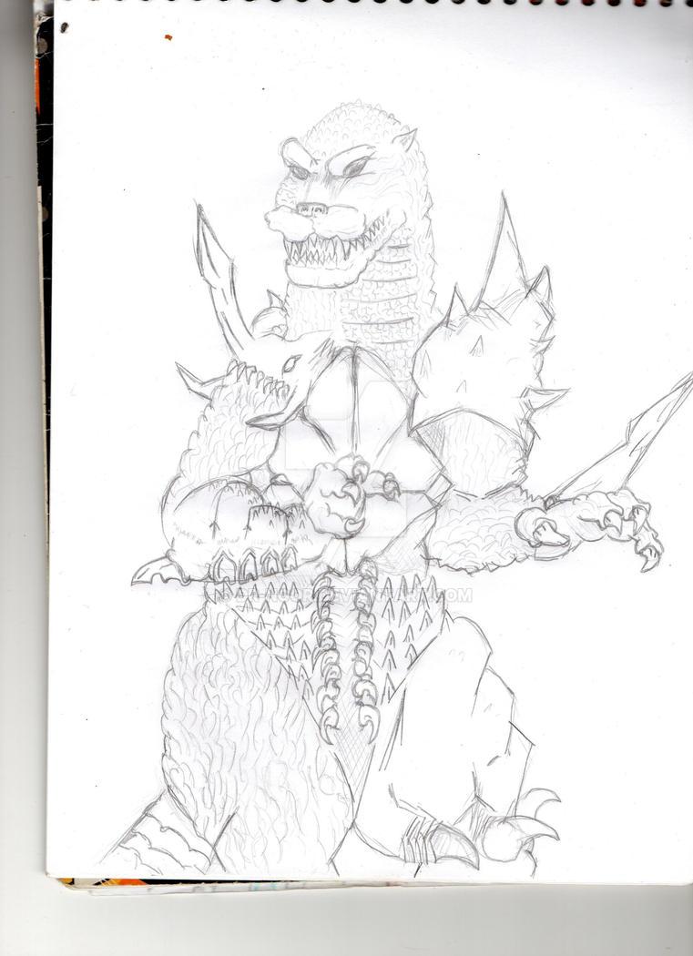 Random Godzillakaiju Fanart Page 29 Toho Kingdom