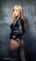 Holly Hocks Black Canary Cosplay