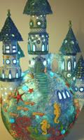 ocean castle lamp