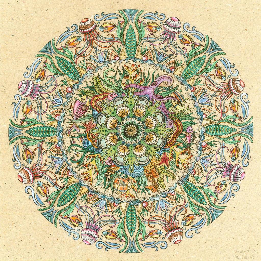 Ocean Mandala by bgerr