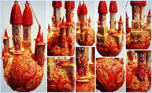 Red Sun Castle Ball Dreamworld by bgerr