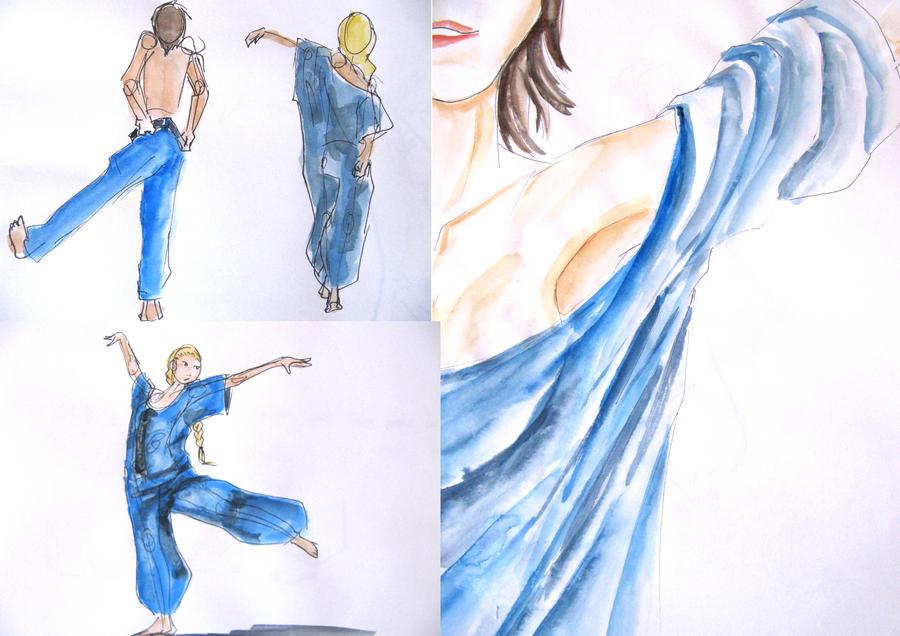 Projet textile-Le Pantalon by TinaWOO