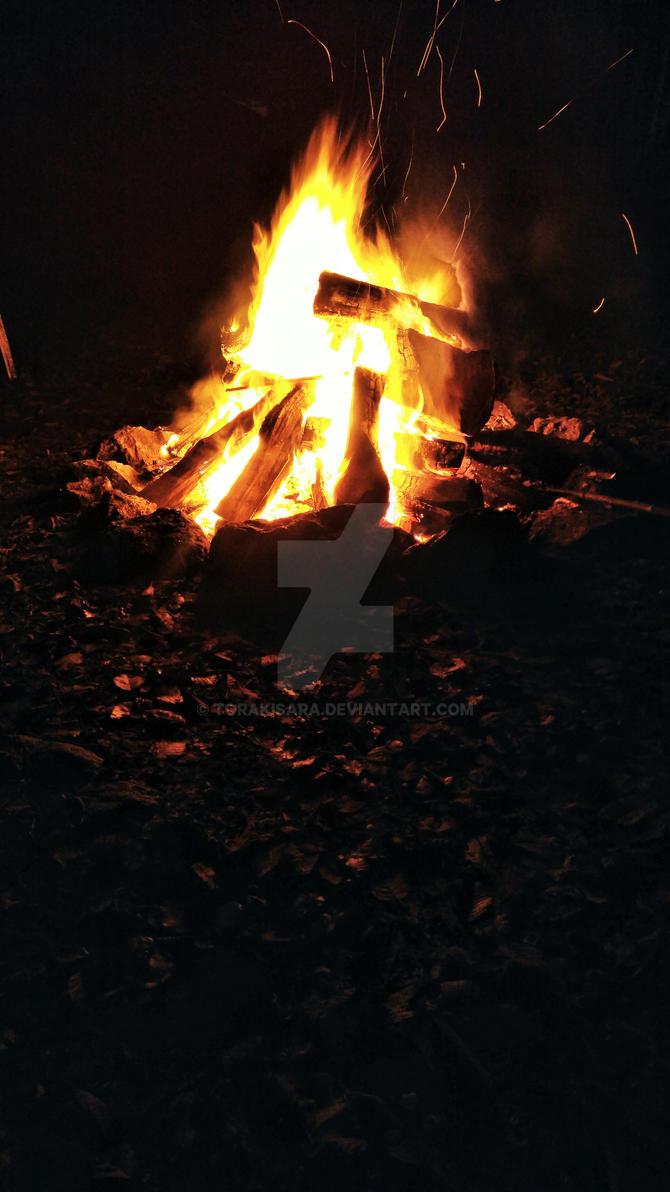 Xmas fire by torakisara