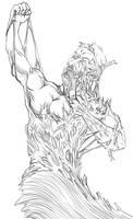 Venomous Pain _ Line Art