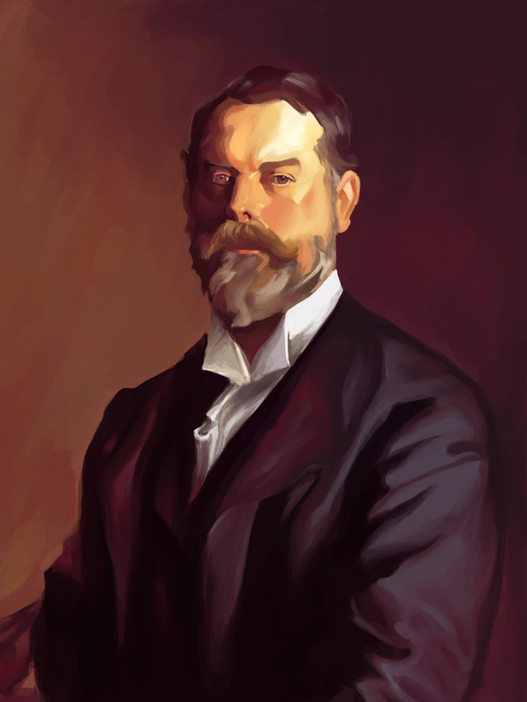 John Singer Sargent Portrait by Enydimon on DeviantArt