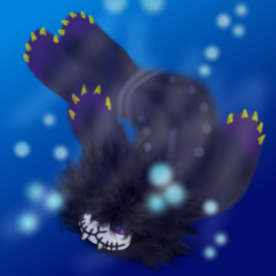 Aquariumstuck Walrus Kurloz by ravenblood1