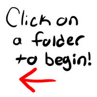 Click on a folder to begin