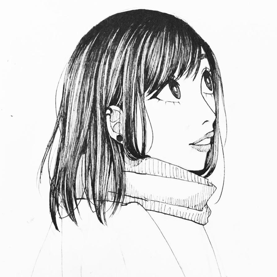 A look Line Art by MikaLinCow