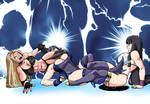 Krystal and Ying vs Karen Part 2