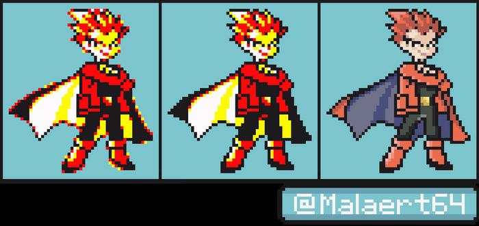 Pokemon Yellow - Lance Sprite Recolour
