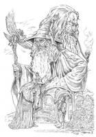 Gandalf by NachoCastro