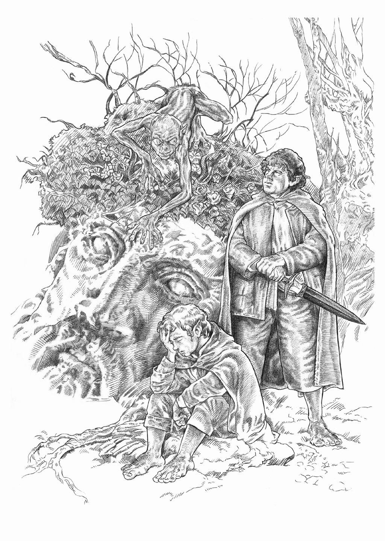 Frodo y Sam by NachoCastro