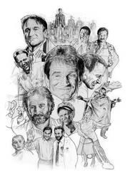 Robin Williams by NachoCastro