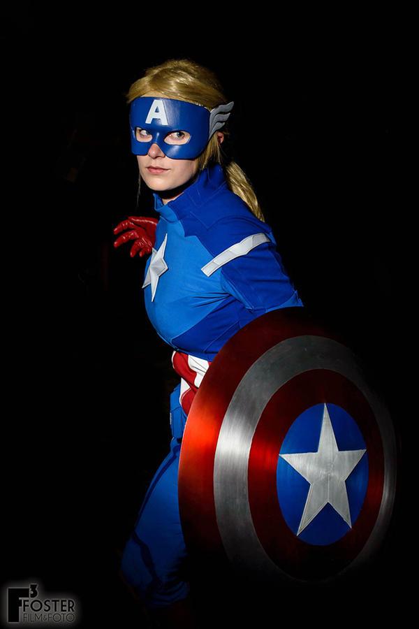 Captain America Preview by Hamano--Ayumi