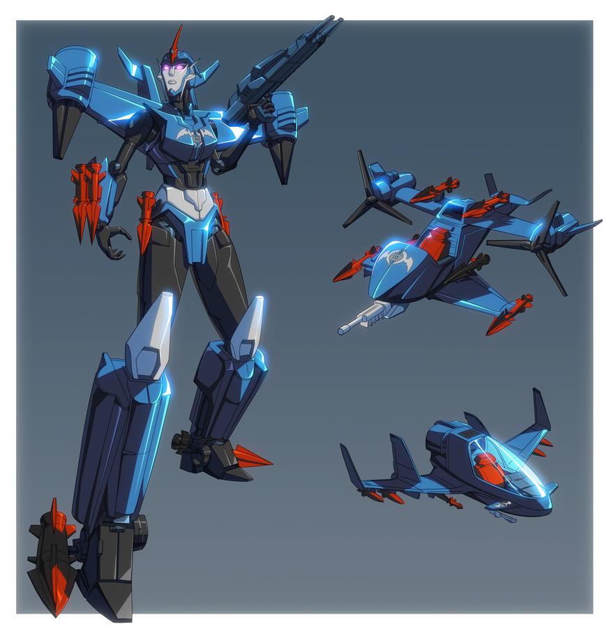 Razorwing - Commission by GrungeWerXshop