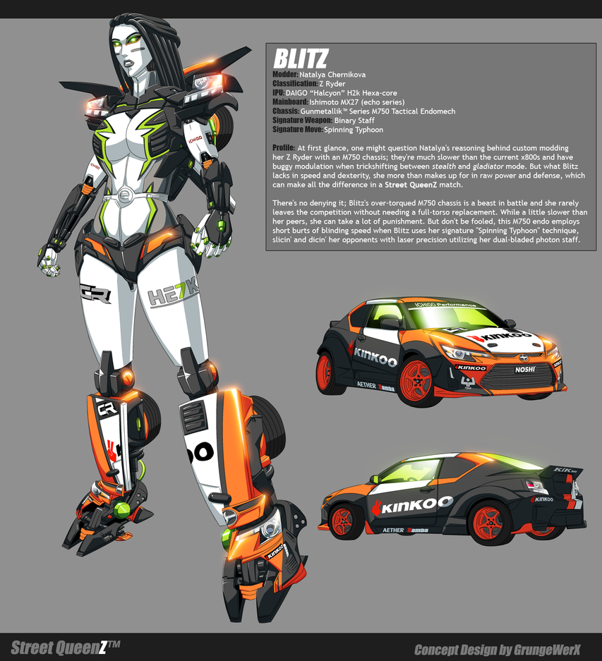 Street QueenZ - BLITZ by GrungeWerXshop