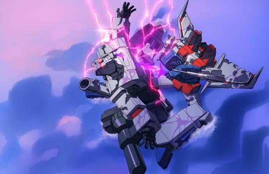 On Destiny's Blade - Megatron vs Starscream