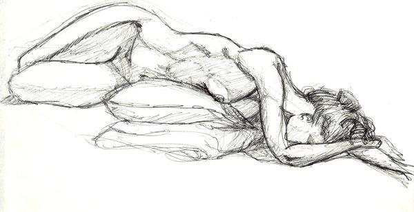 Life Drawing by Ryan-TheGrav-Berry