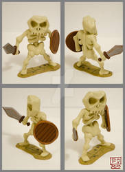 Skeleton Polymer Model