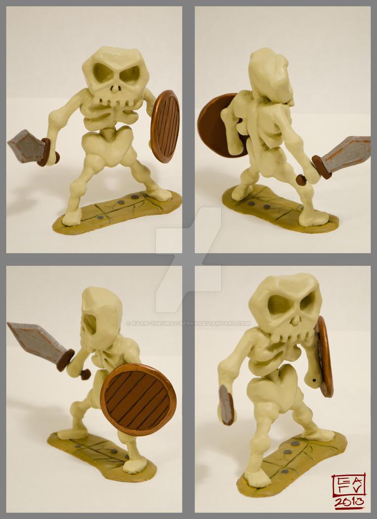 Skeleton Polymer Model by Ryan-TheGrav-Berry