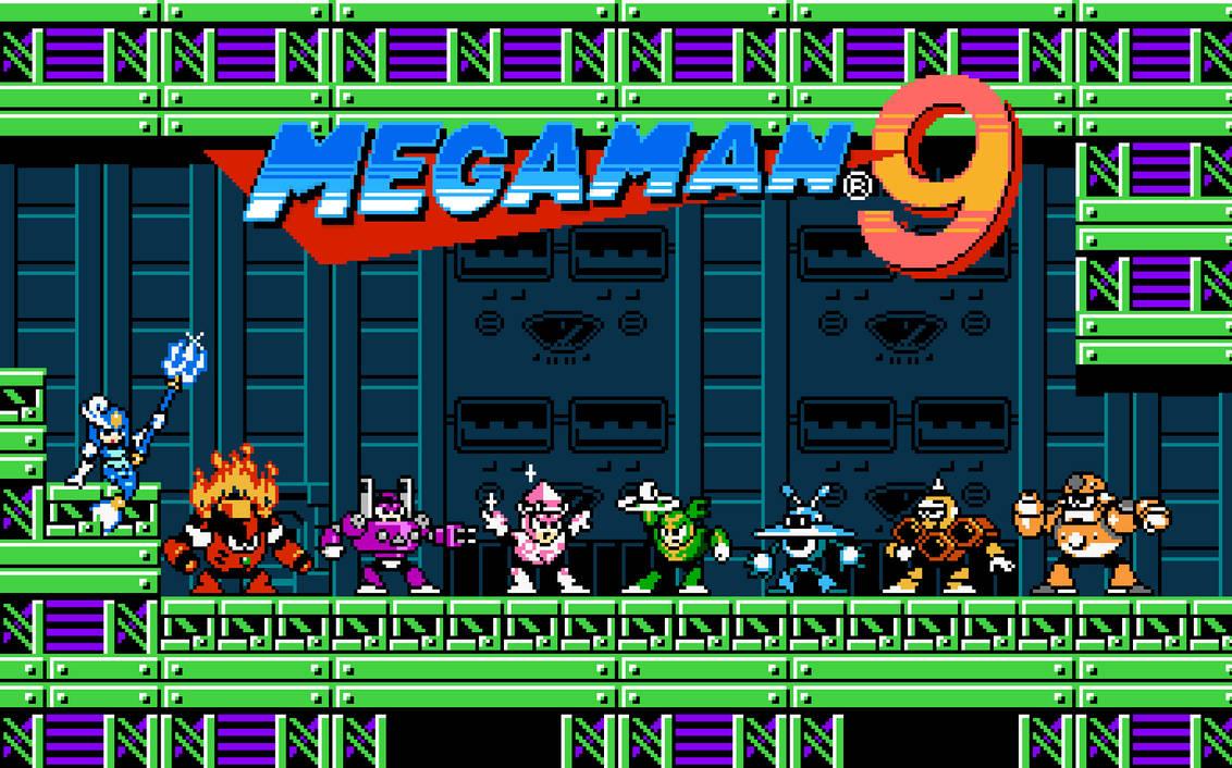 Megaman 9 Robot Masters [1] by rodrigo6620