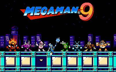 Megaman 9 Robot Masters [2] by rodrigo6620
