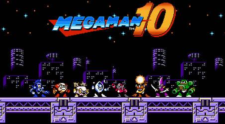 Megaman 10 Robot Masters [1] by rodrigo6620
