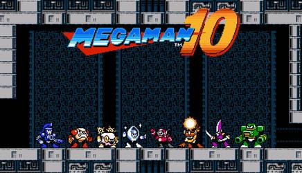 Megaman 10 Robot Masters [2] by rodrigo6620