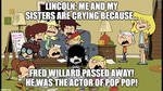 The Loud House - R.I.P. Fred Willard (Pop Pop) by CondelloTV