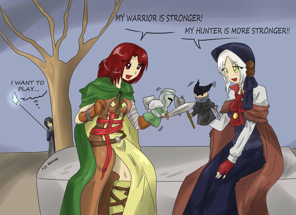bloodborne_vs_dark_souls_by_tikoriko-d8p