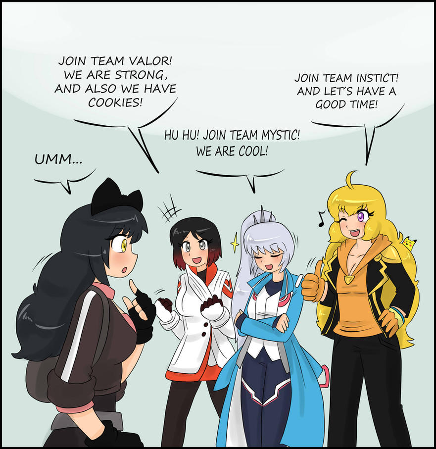 meet the new team leaders by tikoriko on meet the new team leaders by tikoriko