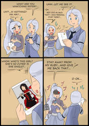 Meet the new Schnee brother 3.... by Tikoriko