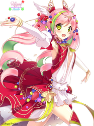Render Anime Girl_79 by Kuzumi-chan