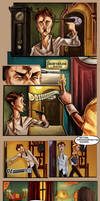 Monsieur Charlatan Page 3+4 by DrSlug