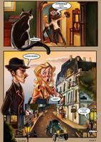 Monsieur Charlatan Page 7 by DrSlug