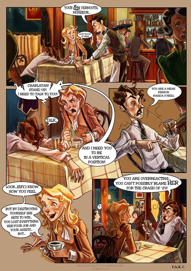 Monsieur Charlatan Page 8 by DrSlug