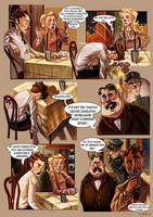 Monsieur Charlatan Page 9 by DrSlug