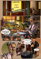 Monsieur Charlatan Page 13 by DrSlug
