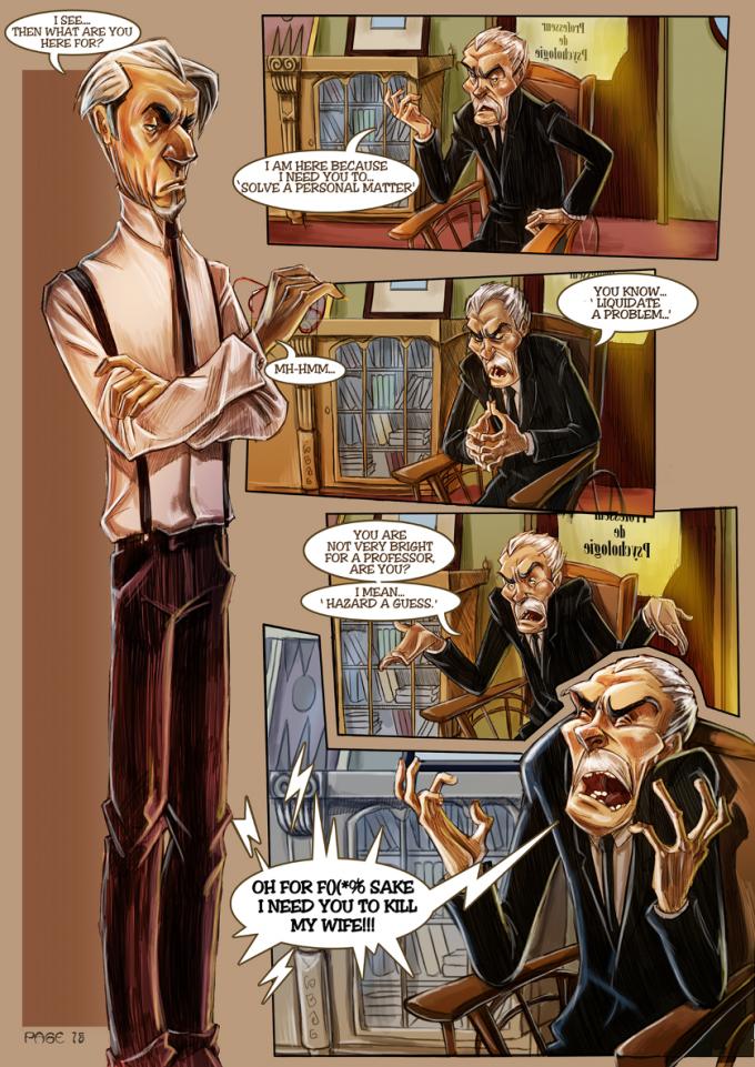 Monsieur Charlatan Page 15 by DrSlug