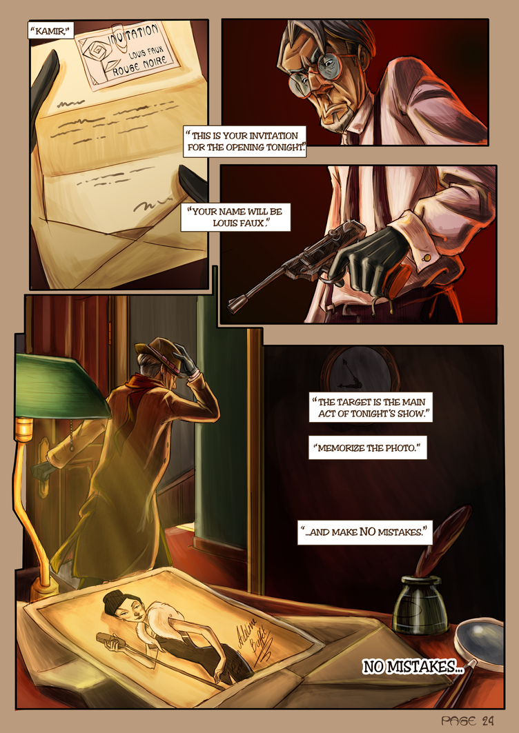 Monsieur Charlatan Page 24 by DrSlug
