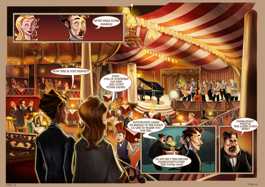 Monsieur Charlatan Pages 25-26 by DrSlug
