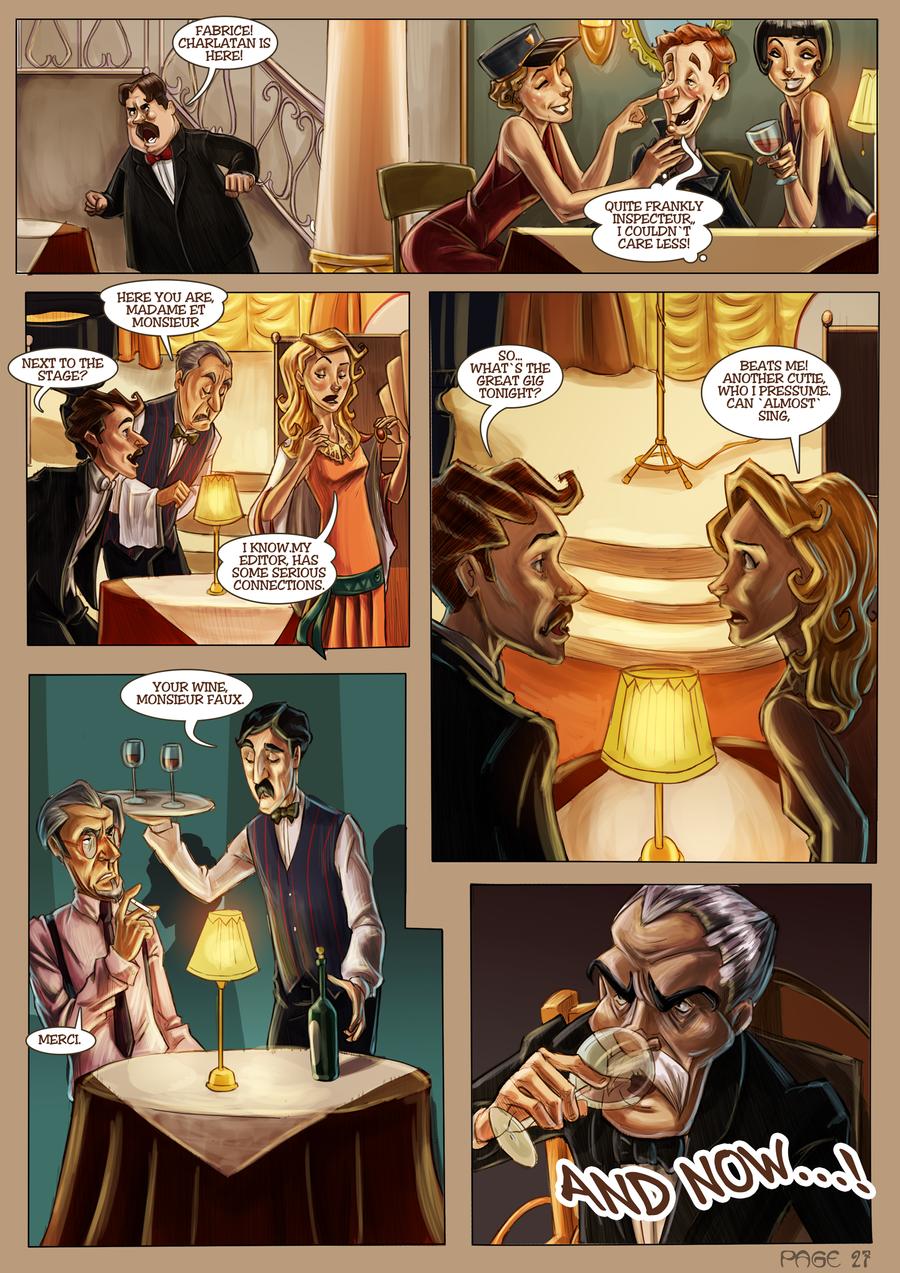 Monsieur Charlatan Page 27 by DrSlug