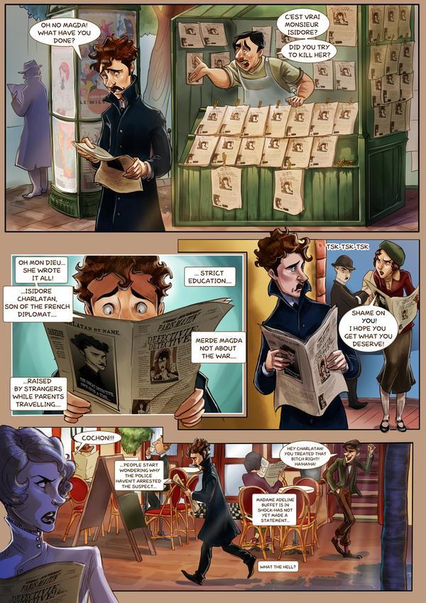 Monsieur Charlatan Page 60 by DrSlug