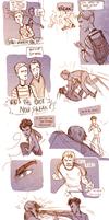Teenager Sherlock- John Watson
